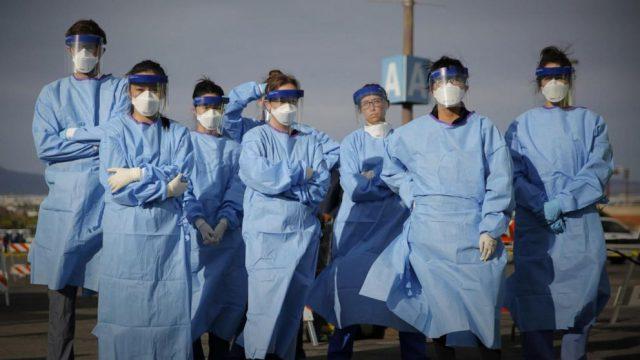Covid 19 Nurse Healthcare Workers