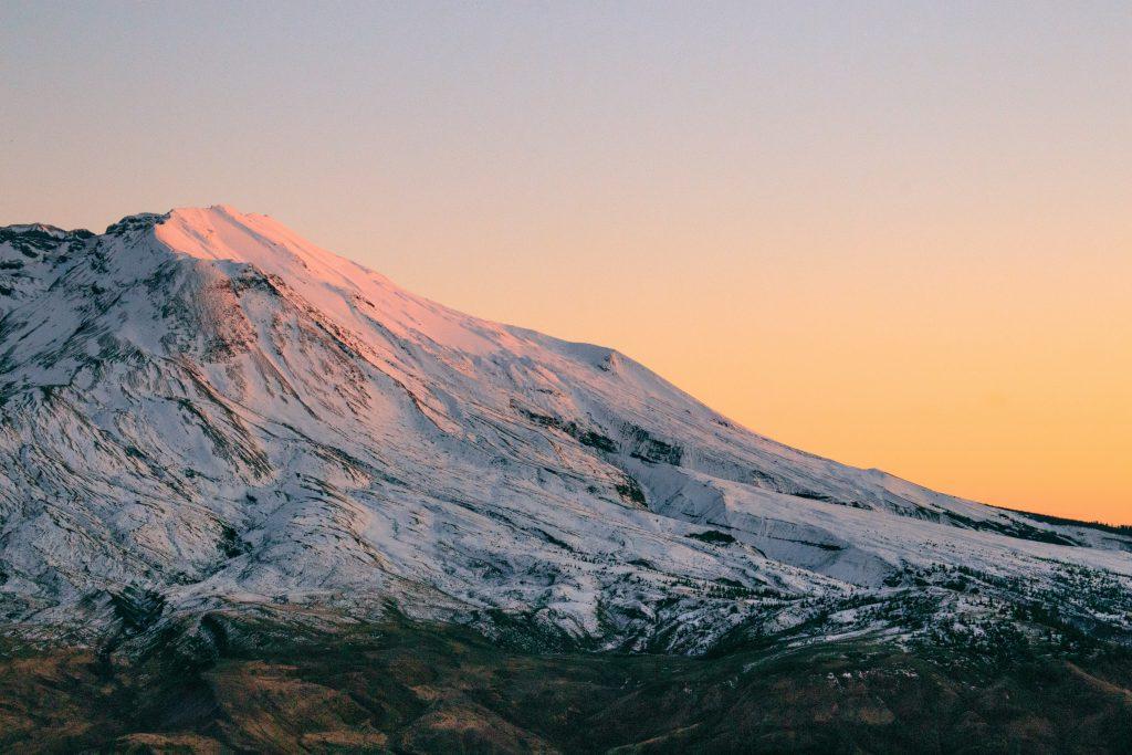 Mount St. Helens in Washington State.