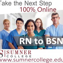 RN to BSN Online Ad